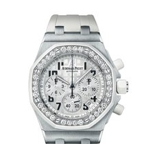 Audemars Piguet Royal Oak Offshore Lady - diamond - silver dial