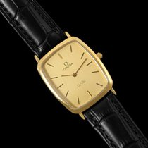 Omega 1980's De Ville Vintage Mens Ultra Thin Dress Watch