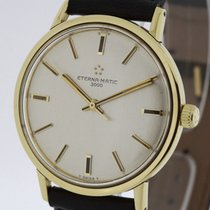 Eterna - MATIC 3000 solid 18K Yellow Gold Automatic Men's...
