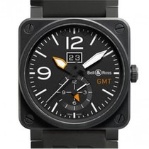 Bell & Ross Aviation BR03-51-GMT CARBON Automatic  Watch