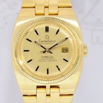 Omega Constellation Vintage Automatic 18K Gold 1972 Dresswatch...