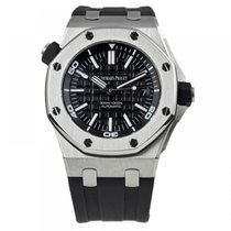 Audemars Piguet AP Royal Oak Offshore Diver Stainless Steel on...