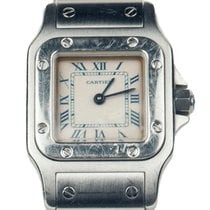 Cartier Santos 1565 | White Dial | 2003 |  24mm | Box Included