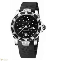 Ulysse Nardin Lady Diver Black Starry Night 30 Diamonds Ladies...
