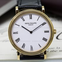 Patek Philippe 5120J-001 Calatrava Automatic 18K Yellow Gold...
