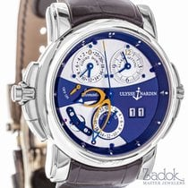 Ulysse Nardin Sonata Cathedral Automatic 18K White Gold 42mm...