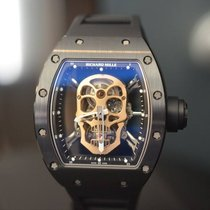 Richard Mille NEW RM 52-01 Tourbillon Skull Nano Ceramique