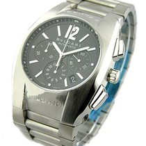Bulgari EG40BSSDCH Ergon Chronograph - Steel on Bracelet with...