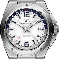 IWC Ingenieur Dual Time Stainless Steel 43mm IW324404
