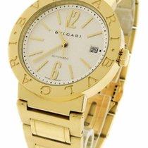 Bulgari BB 33 GG  33mm in Yellow Gold - on Yellow Gold...