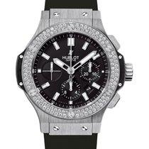 Hublot Big Bang 301.SX.1170.RX.1104 Black Index Diamond Bezel...