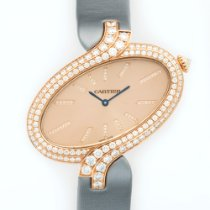 Cartier Pink Gold Delices XL Diamond Watch Ref. WG800020