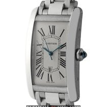 Cartier Tank Collection Tank Americaine 18k White Gold Large...