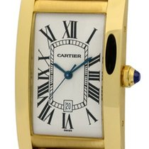 Cartier Tank Collection Tank Americaine 18k Yellow Gold 27mm...