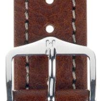 Hirsch Uhrenarmband Leder Buffalo braun M 11350215-2-18 18mm