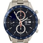 TAG Heuer Carrera Stahl Automatik Chronograph Tachymeter 41mm