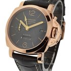 Panerai PAM 576 Luminor 1950 8 Days GMT in Rose Gold