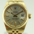 Rolex OYSTER - PERPETUAL DATEJUST LADY GOLD 750