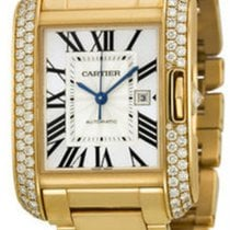 Cartier- Tank Anglaise Großes Modell, Ref. WT100006