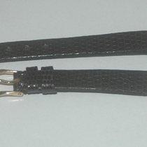 Baume & Mercier Leder Armband Leather Bracelet 10mm Neu