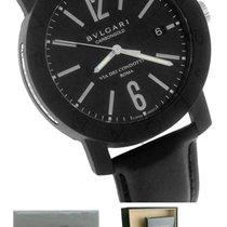 Bulgari BVLGARI Carbongold Via Dei Condotti Rome Black 40mm Watch