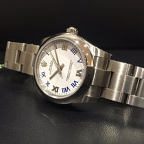 Rolex Oyster Perpetual 177200 WHT/ROM Box Papers Unworn