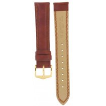 Eberhard & Co. Hirsch Ascot Brown Leather Strap 18mm