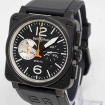 Bell & Ross Aviation Chronograph Black & White BR03 94