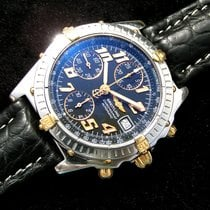 Breitling Chronomat Chronometer Vitesse Black Dial B13350...