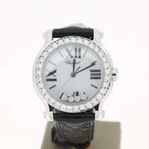 Chopard Happysport  Steel 5 Dimonds+AftersetDiamonds Bezel...