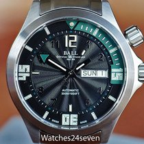 Ball Engineer Master II Diver Black With Green Dial Automatic