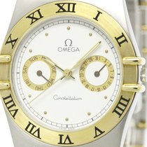 Omega Polished Omega Constellation Day Date 18k Gold Steel...