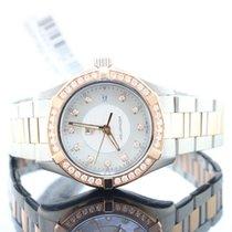 TAG Heuer Aquaracer 18kt Rose Gold & Steel Diamond Bezel...