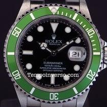 Rolex Submariner date green bezel Mark 1 Fat Four full set...