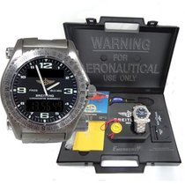 Breitling Mens Breitling Emergency Co Pilot Titanium Watch ...