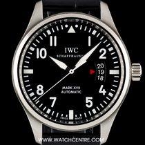 IWC S/S Unworn Black Dial Pilots Mark XVII Gents B&P IW326501