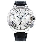 Cartier Ballon Bleu 42mm Chronograph W6902000 Stainless Steel...