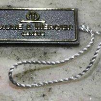 Baume & Mercier vintage tag plastic grey newoldstock