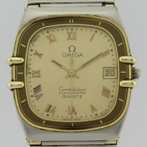 Omega CONSTELLATION QUARTZ 18k GOLD STAINLESS STEEL 1431