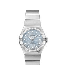 Omega Ladies 12315272057001 Constellation Co-Axial Watch