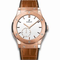 Hublot Classic Fusion 45mm King Gold · Ultra-Thin White Shiny...