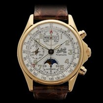 DuBois et fils Perpetuelle MoonPhase 18k Yellow Gold Gents 1785