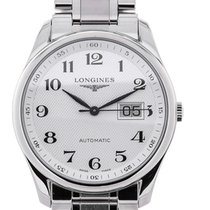 Longines Master 40 Date Guilloche Dial