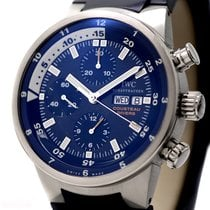 IWC Aquatimer Chronograph Cousteau Ref-378201 Stainless Steel...