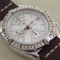 Breitling Chronomat Longitude GMT Full Set weißes Zifferblatt