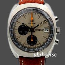 Tissot Navigator Vintage Chronograph in Edelstahl Automatik um...