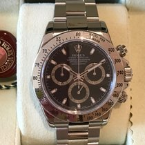 Rolex Daytona Cosmograph Stainless Steel Black Dial 116520
