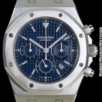 Audemars Piguet Royal Oak Chronograph 25860st Blue Dial Steel...