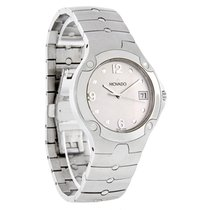 Movado Sports Edition Mens Silver Swiss Watch 0604745