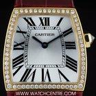 Cartier 18k Y/G Diamond Set Bezel La Dona NOS B&P WE600251